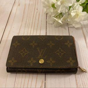 Louis Vuitton monogram bifold compact wallet
